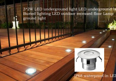 Recessed Floor Lights